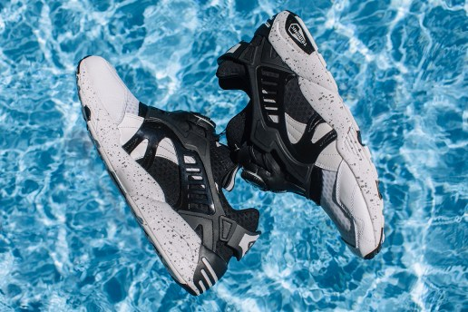 "monkey time x PUMA Trinomic Disc Blaze ""Orcinus Orca"""