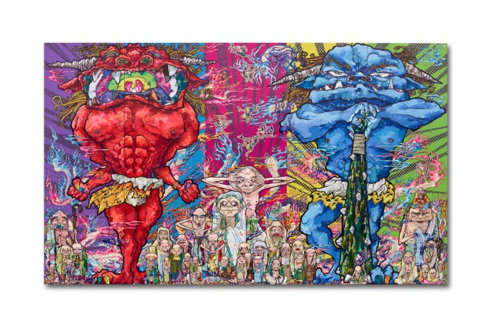 "Takashi Murakami ""The 500 Arhats"" Exhibition @ Mori Art Museum"
