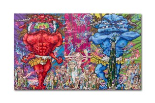 """Takashi Murakami """"The 500 Arhats"""" Exhibition @ Mori Art Museum"""