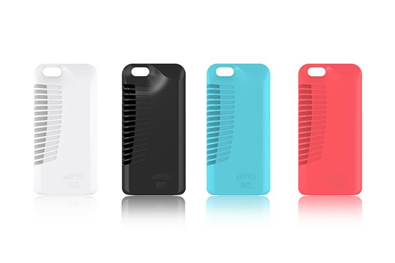 MTV x Ampfly Battery-Free iPhone Speaker Case