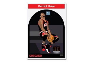 NBA Player Illustrations by Matthew Hollister