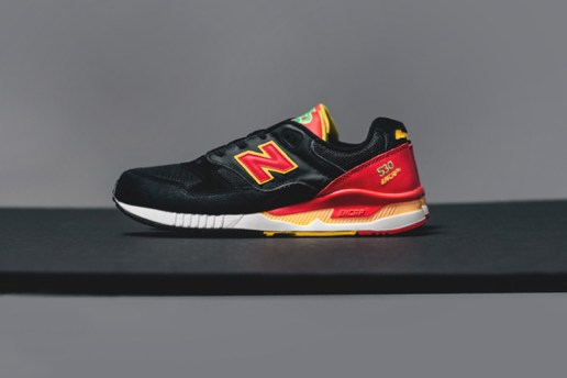 "New Balance 530 ""Pinball"" Black/Red"