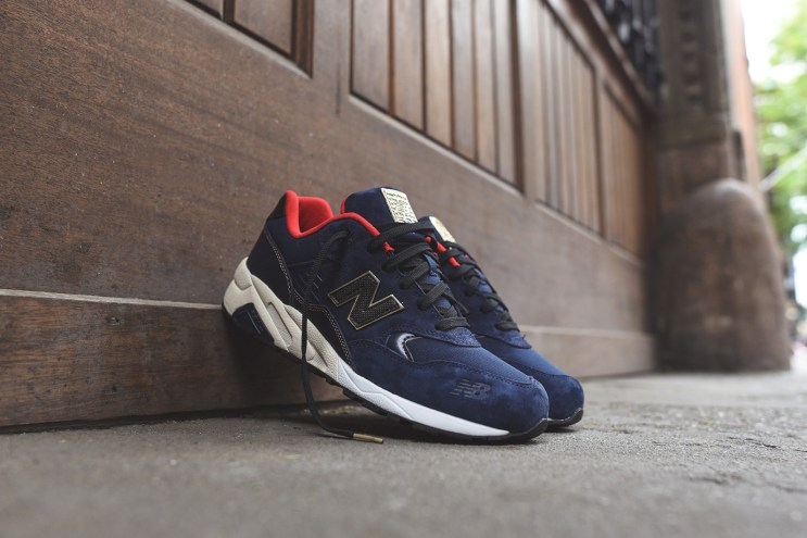 """New Balance MRT580 Limited Edition """"Navy/Red/Gold"""""""
