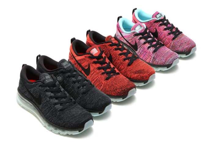 Three New Nike Flyknit Air Max Colorways