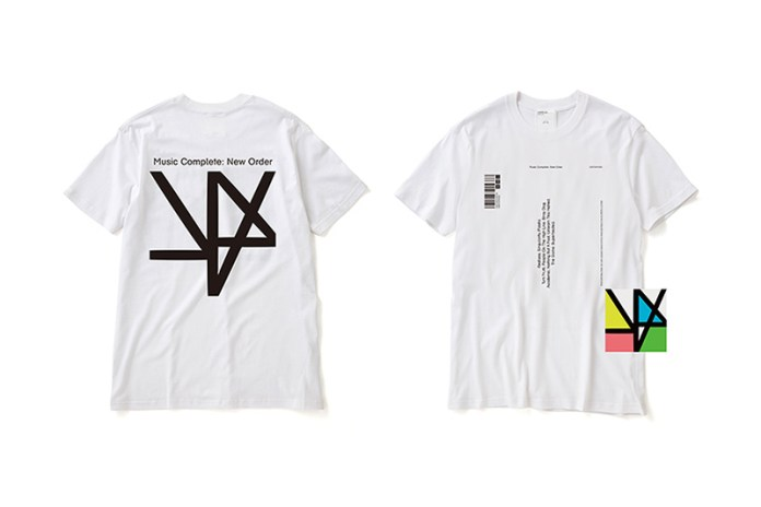 New Order x Peter Saville x A.Four Labs 'Music Complete' T-Shirt