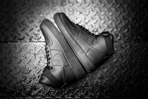 "Nike Air Force 1 High ""Black"""