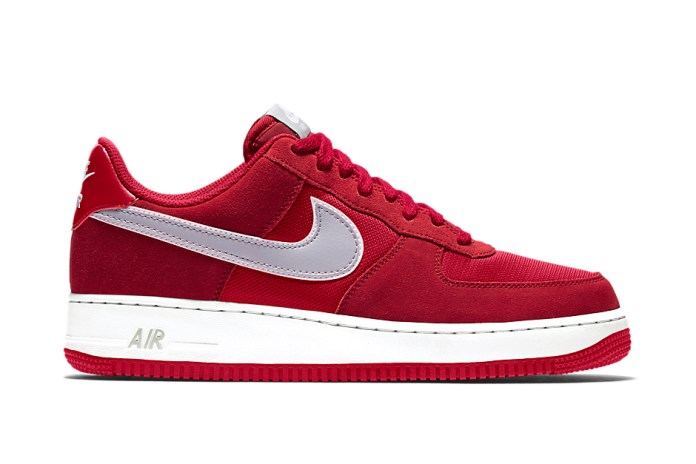 "Nike Air Force 1 ""Red/Silver"""