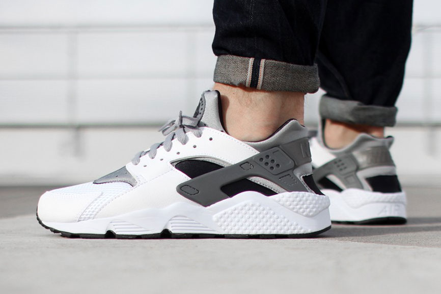 Nike Air Huarache White/Wolf Grey,Black