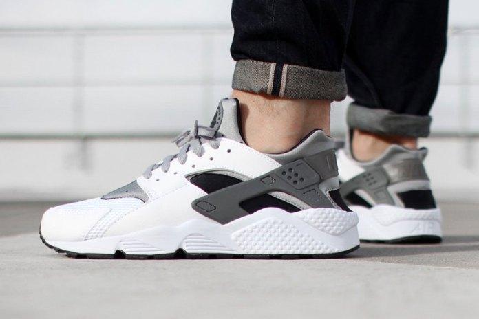 Nike Air Huarache White/Wolf Grey-Black