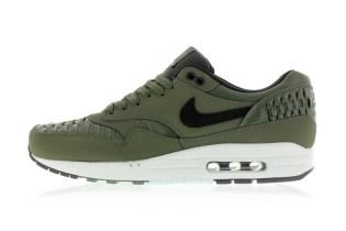 """Nike Air Max 1 Woven """"Carbon Green"""""""
