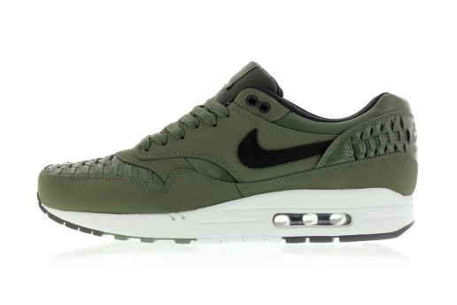 "Nike Air Max 1 Woven ""Carbon Green"""