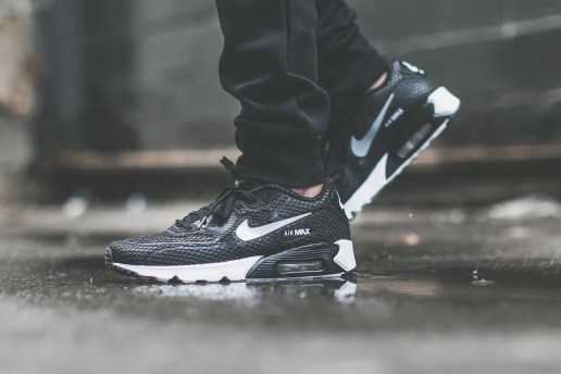 "Nike Air Max 90 Ultra Breeze Plus QS ""Pure Platinum"" and ""Black"""