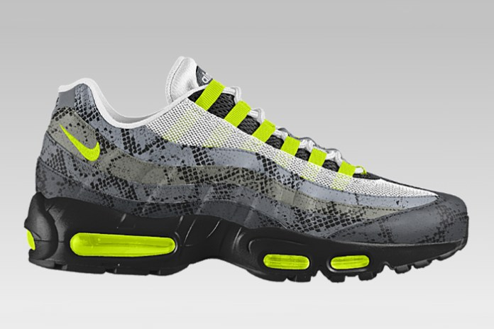 """Nike Air Max 95 iD Is Now Available in """"Snakeskin"""""""