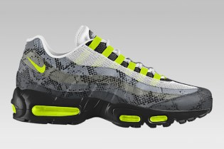 "Nike Air Max 95 iD Is Now Available in ""Snakeskin"""
