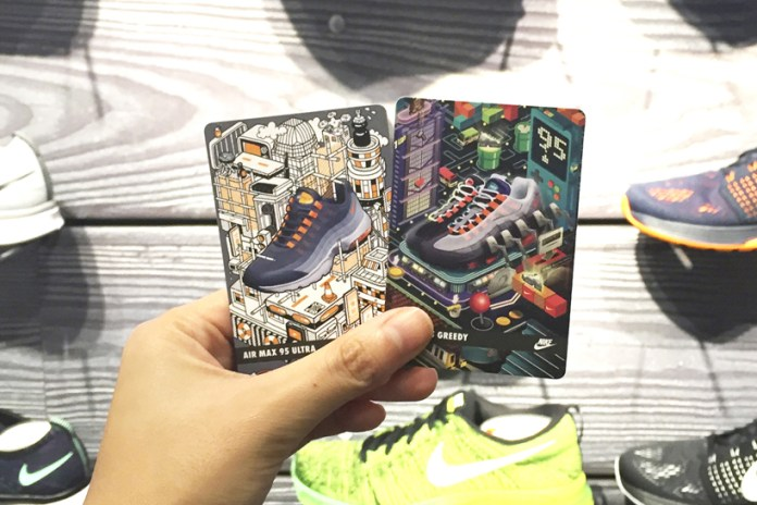 Nike Celebrates the Air Max 95's 20th Anniversary With Trading Card Vending Machine
