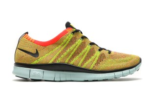 "Nike Free Flyknit NSW ""Bright Crimson"""