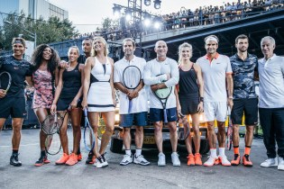Nike Holds a Tennis Match on the Streets of New York With Andre Agassi & Pete Sampras