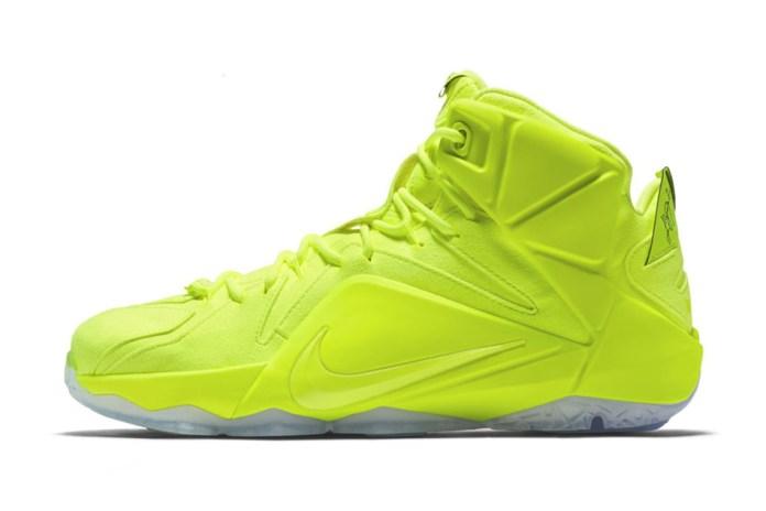 "Nike LeBron 12 EXT ""Tennis Ball"""