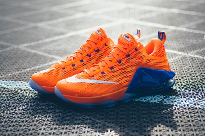 "Nike LeBron 12 Low ""Total Orange"""