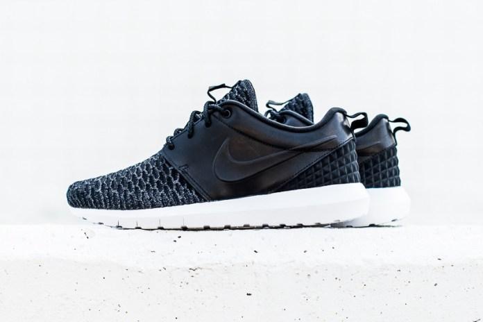 Nike Roshe NM Flyknit Premium Black/Black