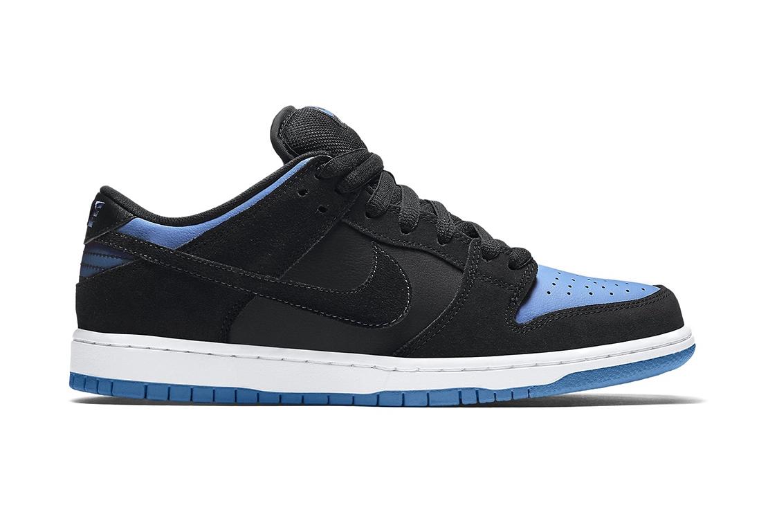 Nike SB Dunk Low Pro Black/University Blue-White