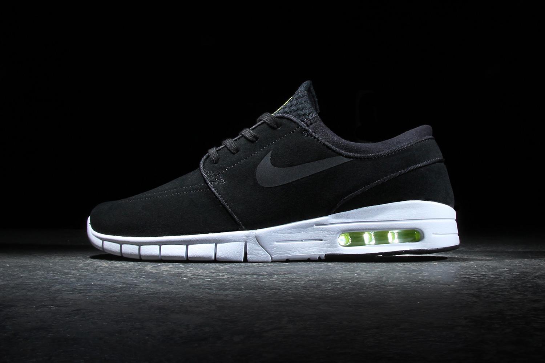 Nike SB Stefan Janoski Max Leather Black/Cyber-White