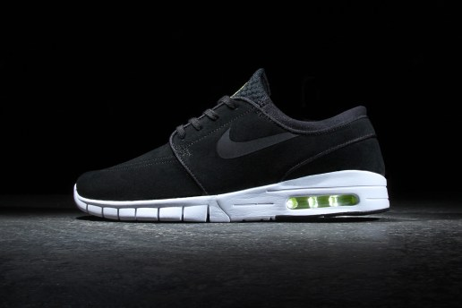 Nike SB Stefan Janoski Max Leather Black/Cyber-White