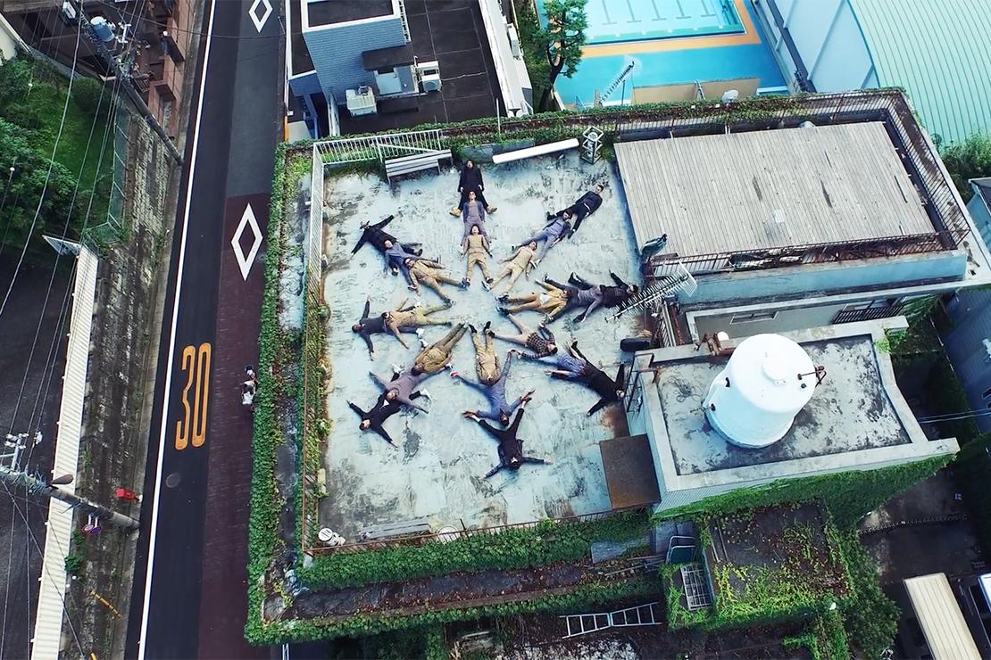 """nonnative 2015 Fall/Winter """"Urban Village Retreat"""" Video"""