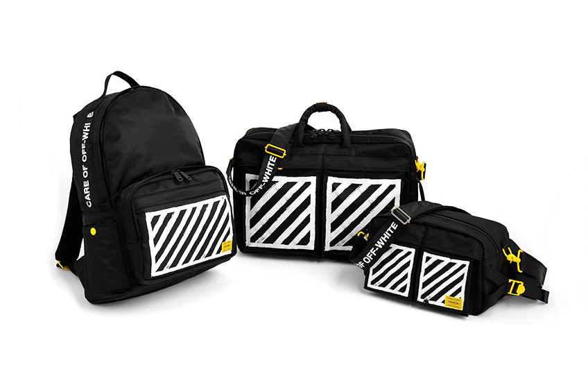 OFF-WHITE c/o Virgil Abloh x PORTER 2015 Summer 80th Anniversary Collection