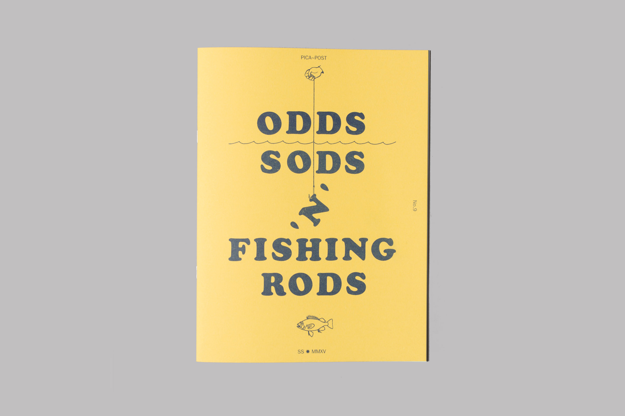 """Oi Polloi 'Pica-Post' Zine Issue 9 """"Odds, Sods 'n' Fishing Rods"""""""
