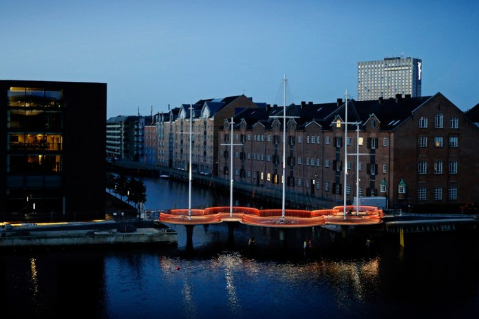 Olafur Eliasson's Cirkelbroen Installation Opens in Copenhagen