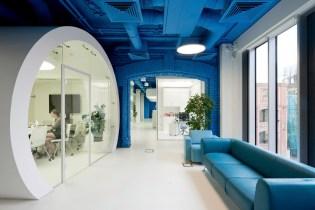 OPTIMEDIA Media Offices by Nefa Architects
