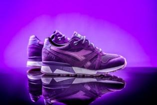 """Packer Shoes x Raekwon x Diadora N.9000 """"Purple Tape"""""""