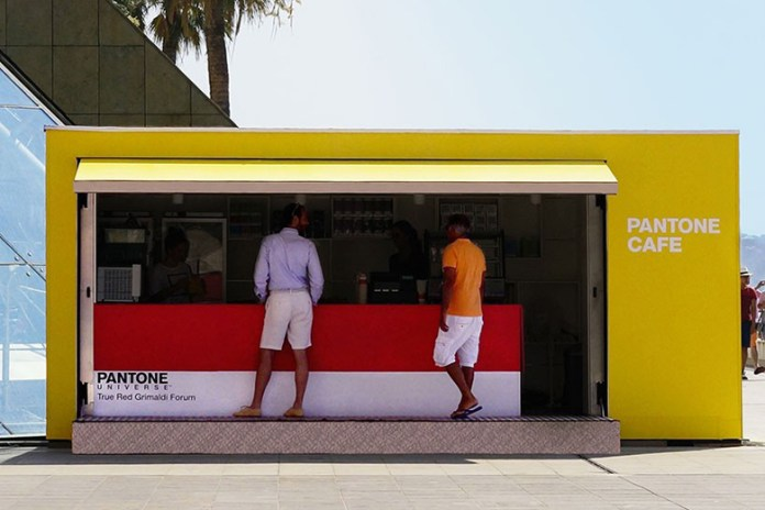 Pantone Opens Pop-Up Café With Color-Coordinated Snacks