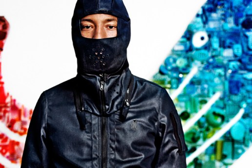 "Pharrell Is Eco-Friendly in the Latest G-Star RAW Autumn/Winter 2015 ""RAW for the Oceans"" Collection"