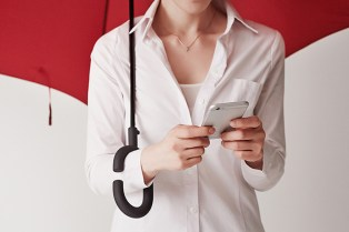 Phone-brella by kt Design Means You Can Now Text in the Rain