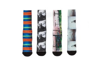 Ari Marcopoulos Collaborates With HUF on Sock Collection