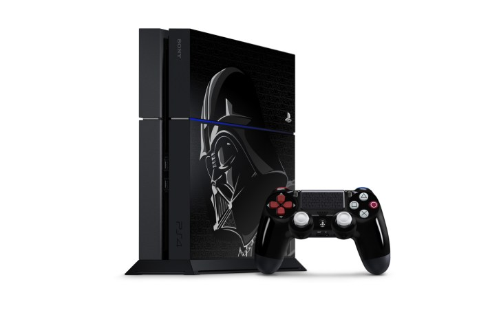 Sony Announces Two Darth Vadar-Inspired PlayStation 4 Bundles