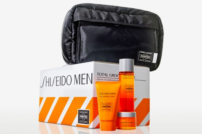 Porter x Shiseido Limited-Edition Grooming Set