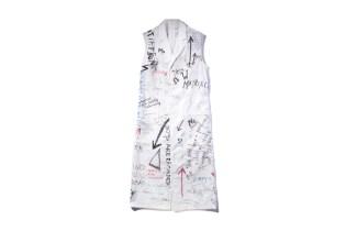 Raf Simons 2015 Fall/Winter Sleeveless Coat