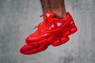"A Closer Look at the Raf Simons x adidas Consortium Ozweego 2 ""Red"""