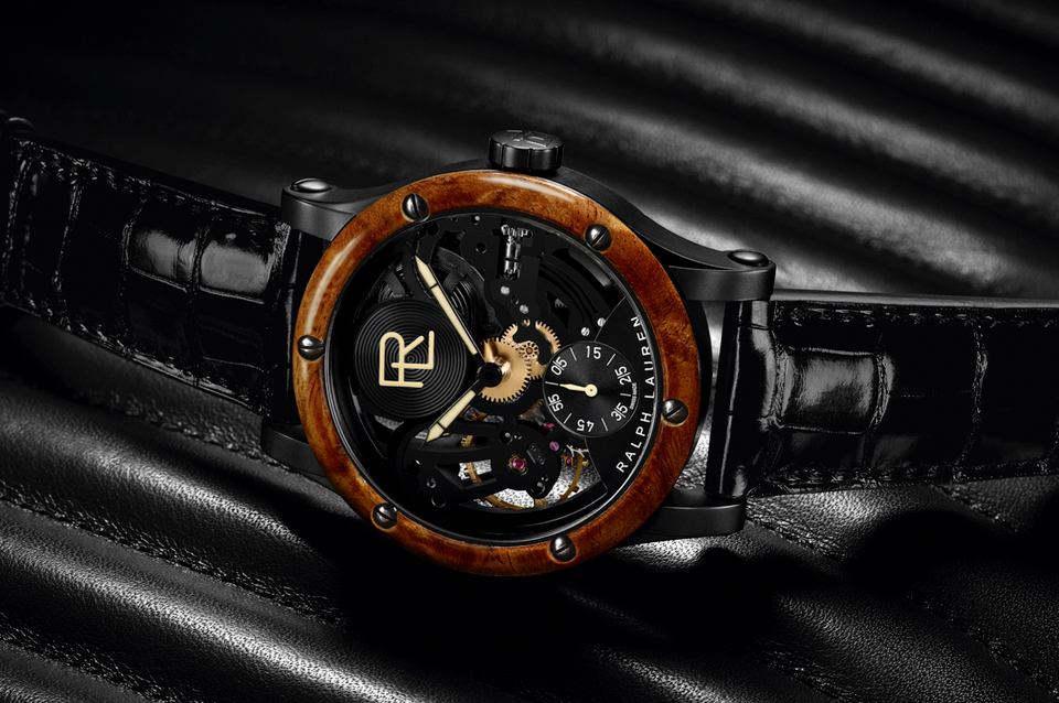 Ralph Lauren Automotive Skeleton Watch