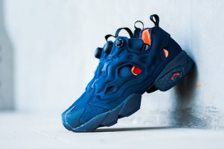Reebok Instapump Fury Navy/Orange