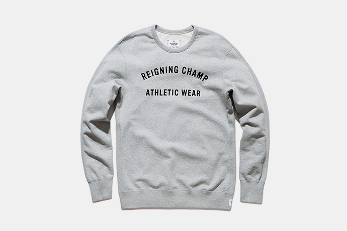 Reigning Champ Fall/Winter 2015 Logo Series