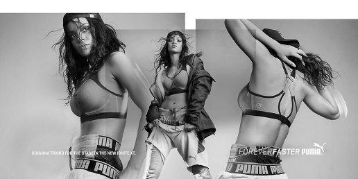 """Rihanna x PUMA """"Forever Bolder"""" Campaign"""