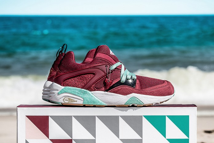 "Sneaker Freaker x Packer Shoes x PUMA Blaze of Glory ""Bloodbath"" Capsule Collection"