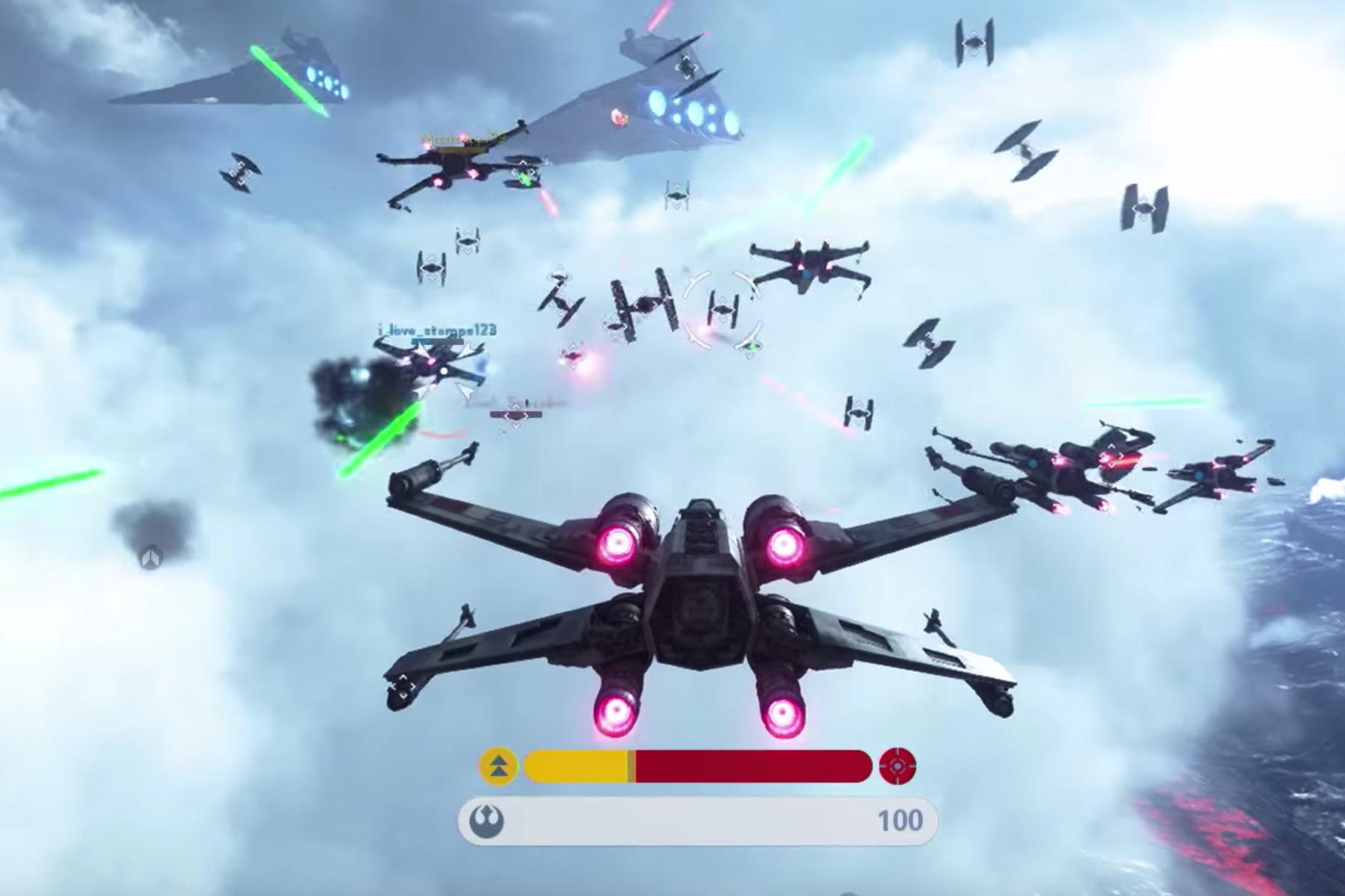 "'Star Wars Battlefront' ""Fighter Squadron"" Gameplay Trailer"
