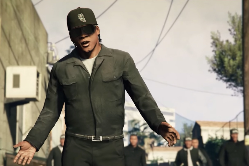 'Straight Outta Compton' Gets Remade in 'Grand Theft Auto V'