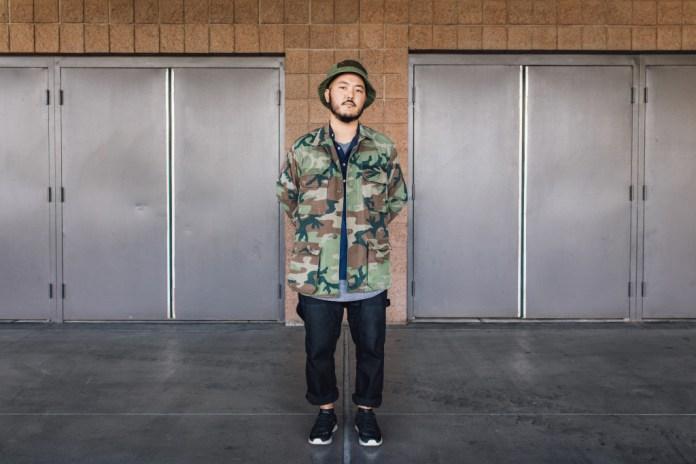 Streetsnaps: Geoff Nishimoto of BRANDBLACK at Agenda Las Vegas