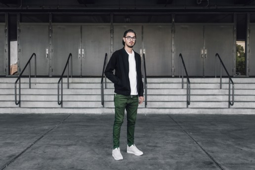 Streetsnaps: James Garcia of ASICS at Agenda Las Vegas